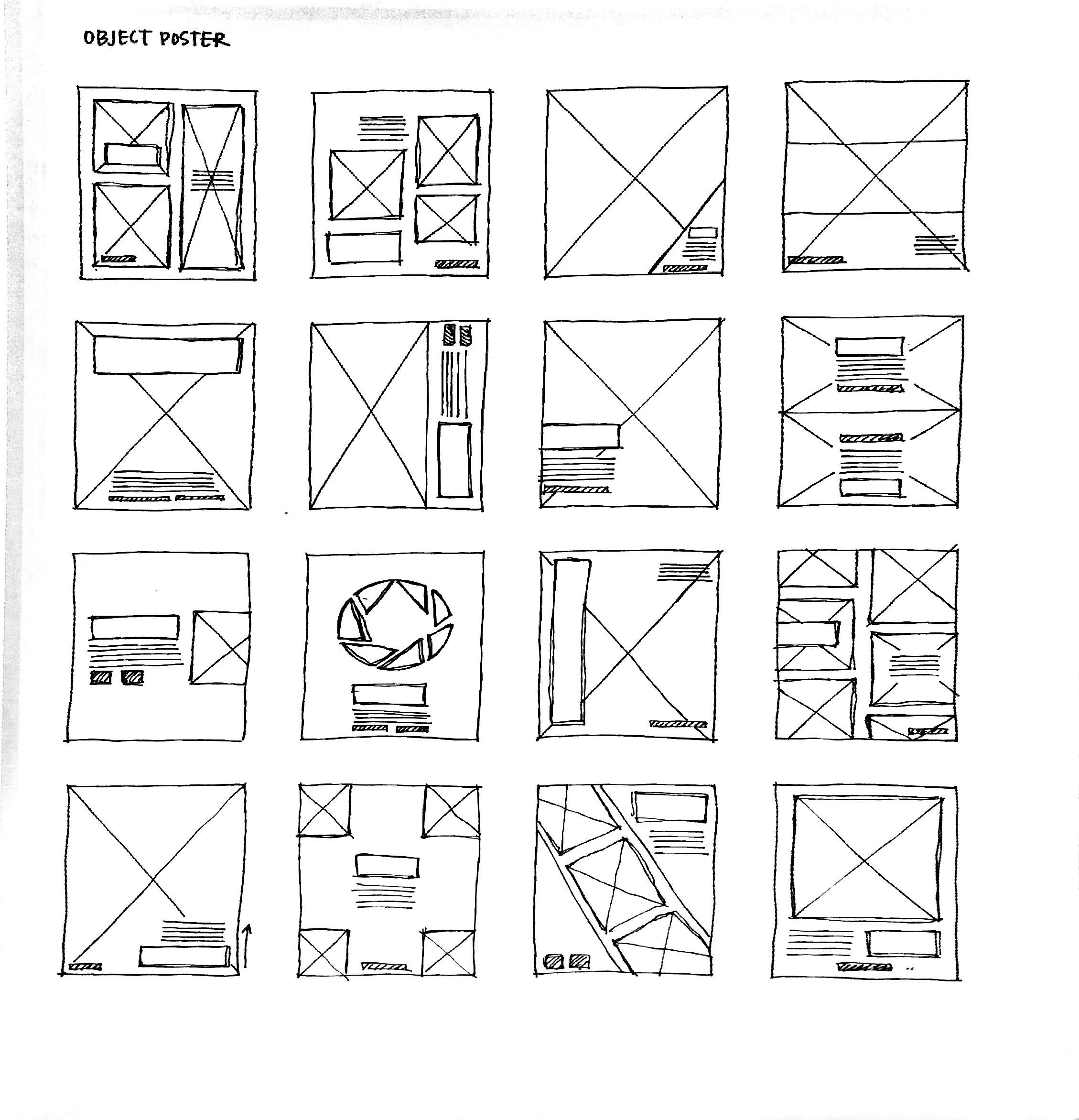 Conceptual sketches.