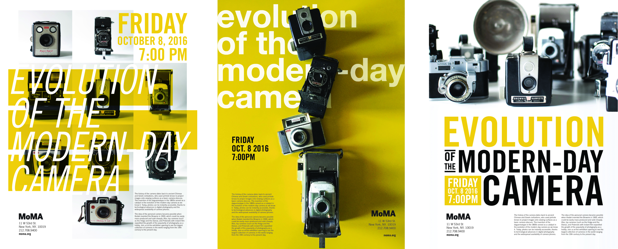 MoMA exhibition poster series.