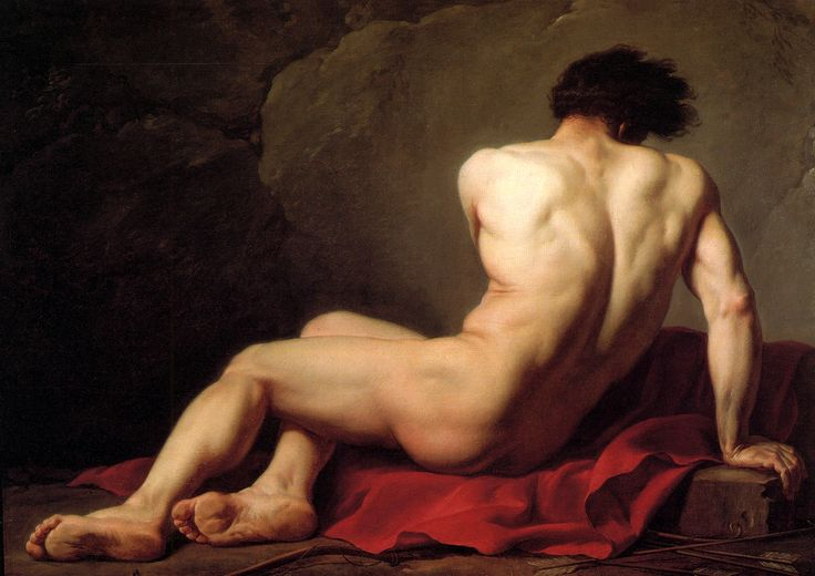 Patroclus by Jacques-Louis David, 1870