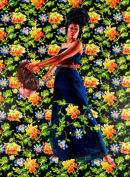 Judith and Holofernes by Kehinde Wiley, 2012