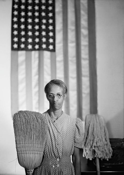 American Gothic by Gordon Parks, 1942