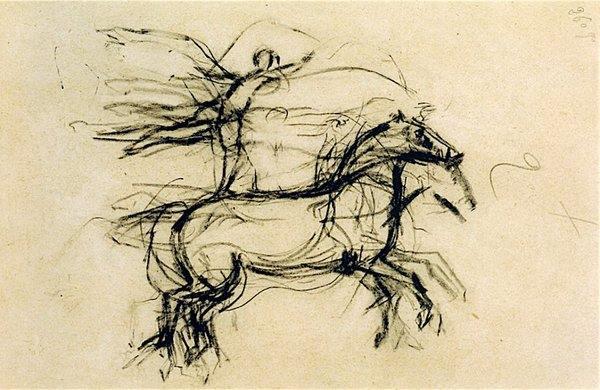 Acrobate Debout sur un Cheval by Pablo Picasso, 1905