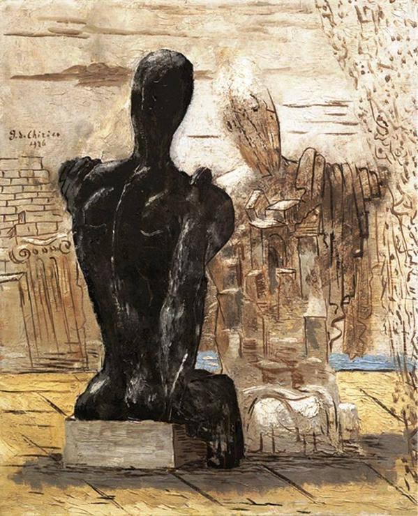 Archeologi Misteriosi by Giorgio de Chirico, 1926