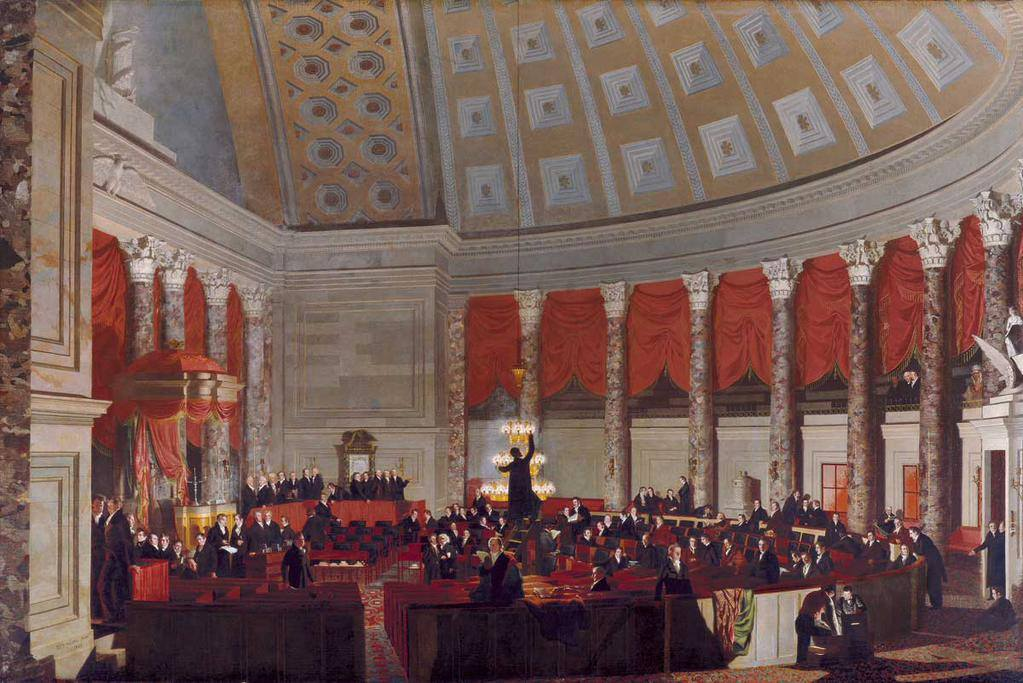 The House of Representatives by Samuel Morse, 1822-23
