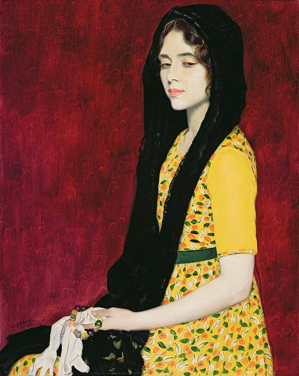 Panchita Zorolla by William Strang, 1916