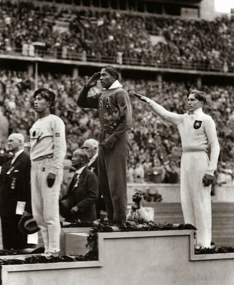 Jesse Owens Wins Gold in Nazi Germany, 1936