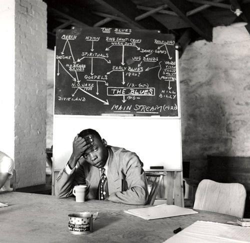 John Lee Hooker by Clemens Kalischer, 1951
