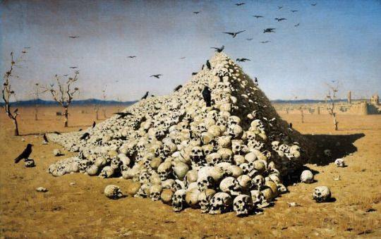 The Apotheosis of War by Vasily Vereshchagin, 1871