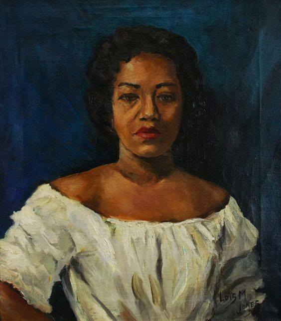 Self Portrait by Loïs Mailou Jones, date unknown