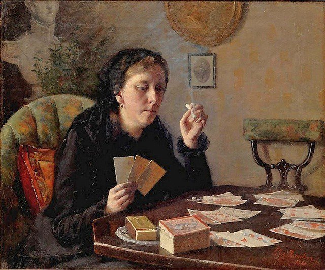 Balda's Aunt's Entertainment by Elin Danielson-Gambogi, 1886
