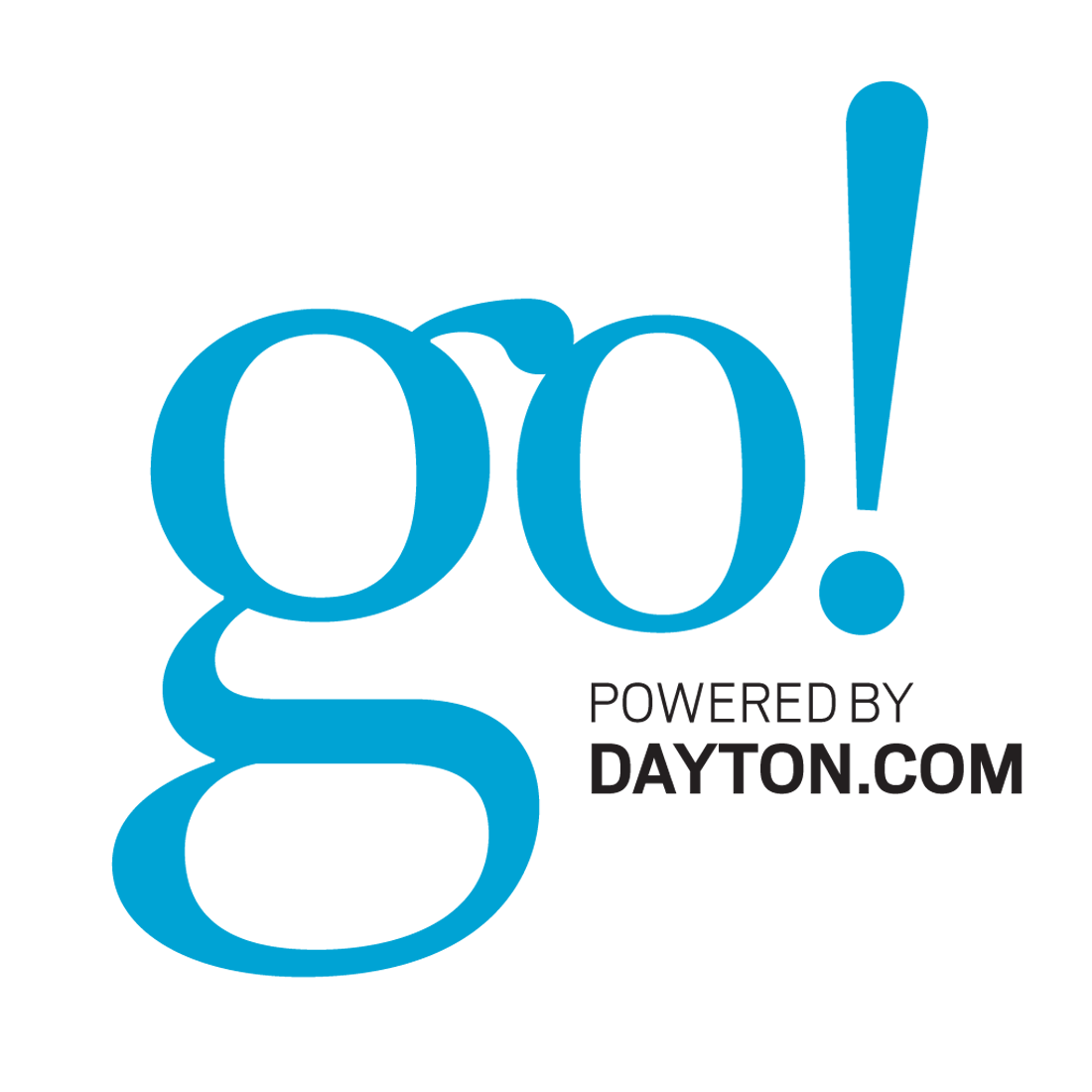 An alternate, unused GO! logo designed for the rebrand initiative.