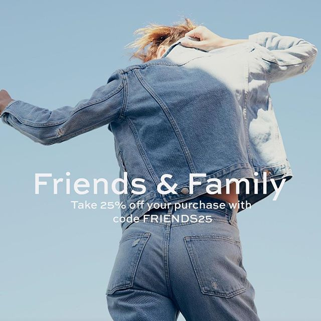 #KaiRecommends : #FriendsAndFamily at the hottest #LA #denim brand taking over the world - @frame ! . #framedenim #Sale #promo #friendsandfamily