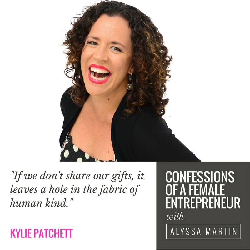 Making the world a better place with Kylie Patchett on the Confessions of a Female Entrepreneur podcast #confessionspodcast