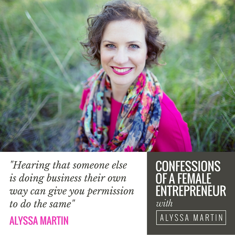 Talking about marching to the beat of your own entrepreneurial drum on the Confessions of a Female Entrepreneur podcast #confessionspodcast