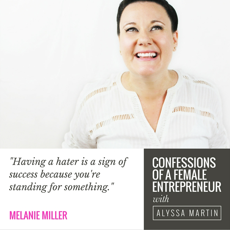 Talking profitable, liveable & loveable business with Melanie Miller on the Confessions of a Female Entrepreneur podcast #confessionspodcast