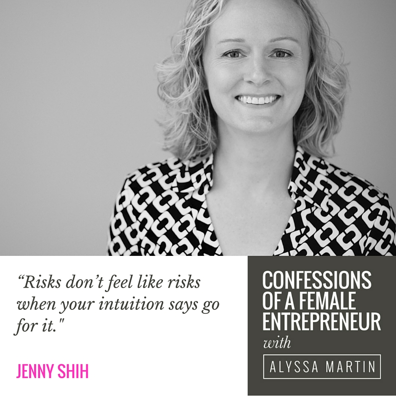Uncompromising Success with Jenny Shih on the Confessions of a Female Entrepreneur podcast #confessionspodcast