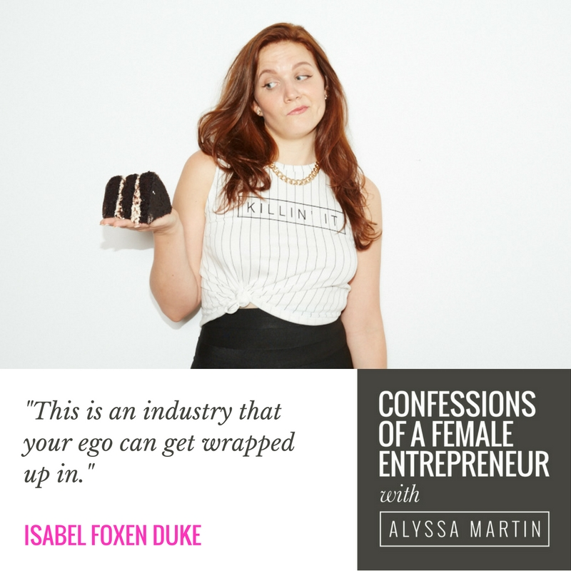 Being a warrior for your message with Isabel Foxen Duke on the Confessions of a Female Entrepreneur podcast #confessionspodcast