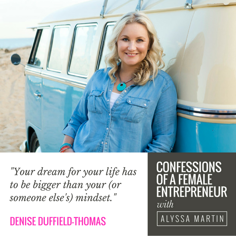 Mastering your money mindset with Denise Duffield-Thomas on the Confessions of a Female Entrepreneur podcast #confessionspodcast