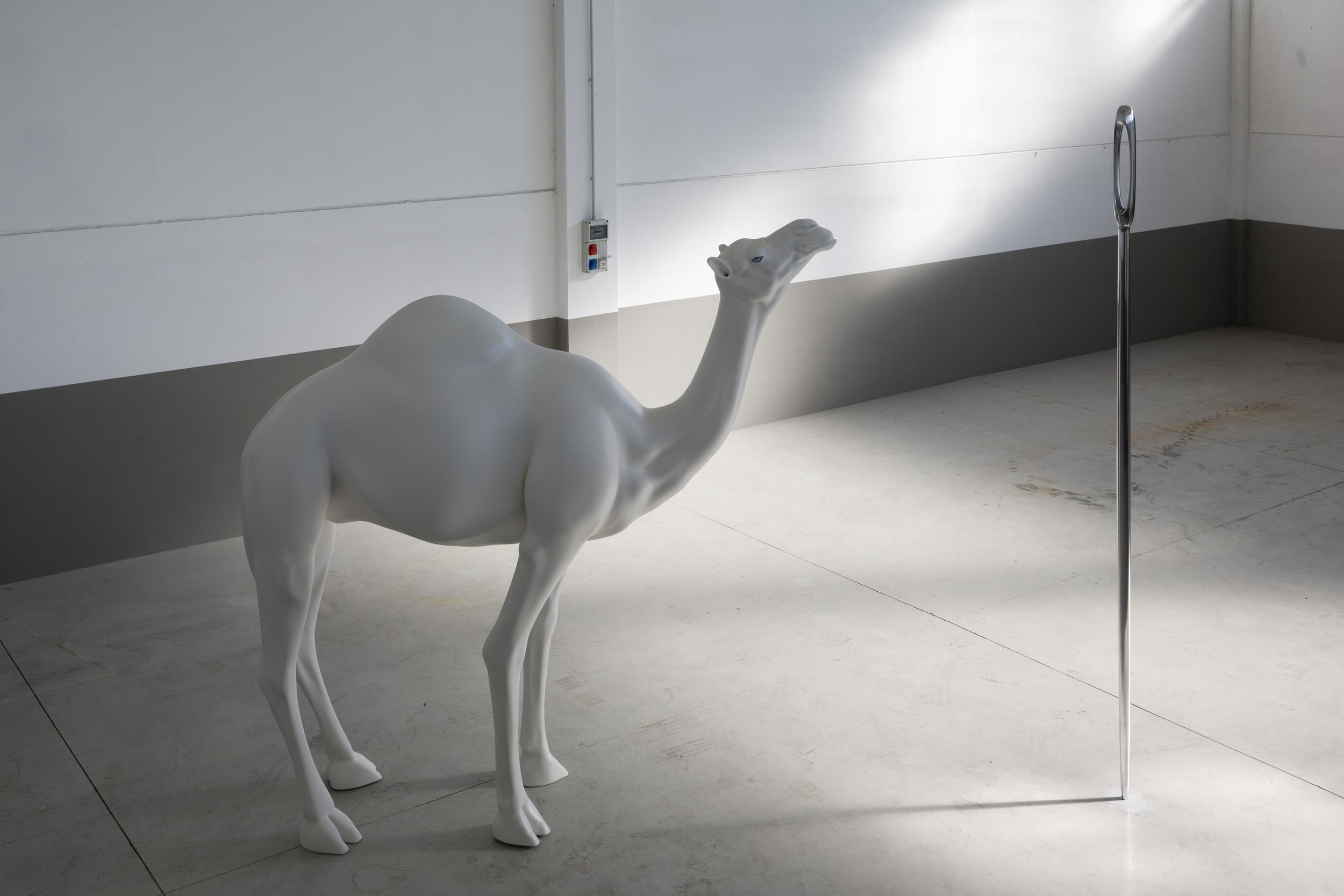 John Baldessari sculpture - Camel
