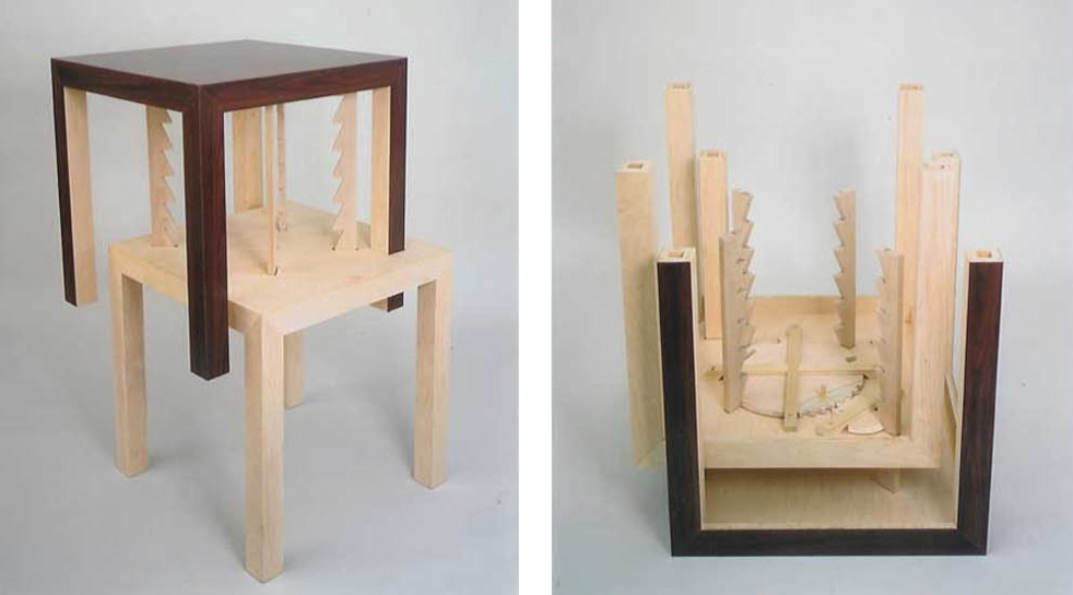 Richard Tuttle Masculin sculpture tables Cooper Hewitt.png