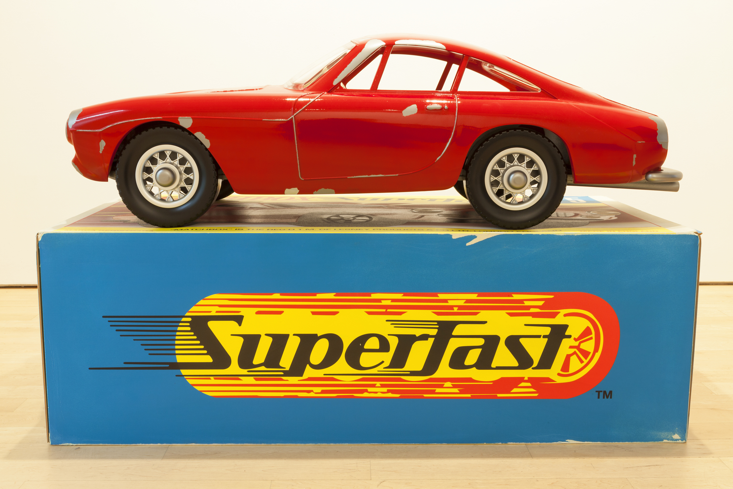 Vik Muniz Matchbox Car Ferrari