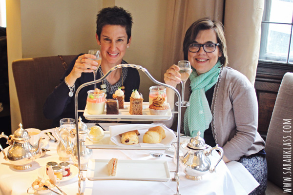 A sparkling afternoon tea at the Grand Hotel, York