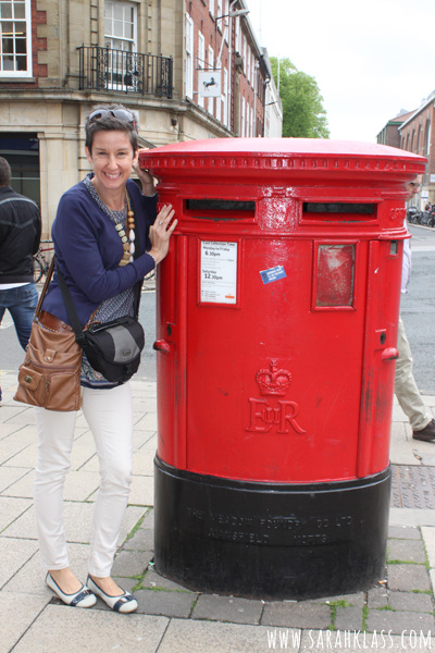Royal Mail! Love the red postboxes!
