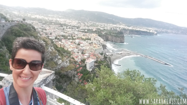 Overlooking Sorrento