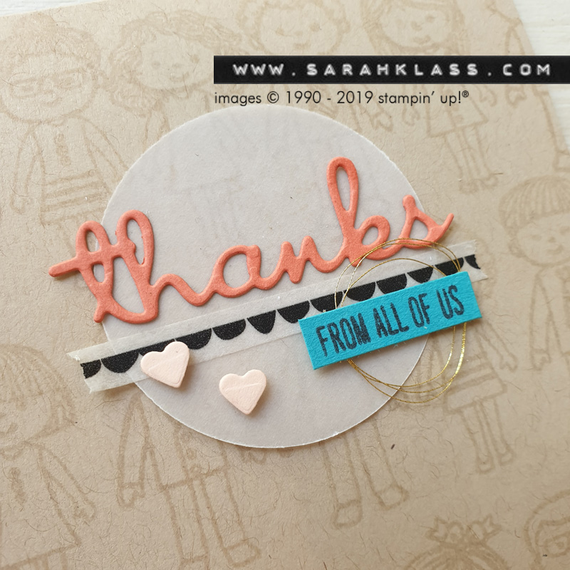 www.sarahklass.com | Family & Friends stamp set