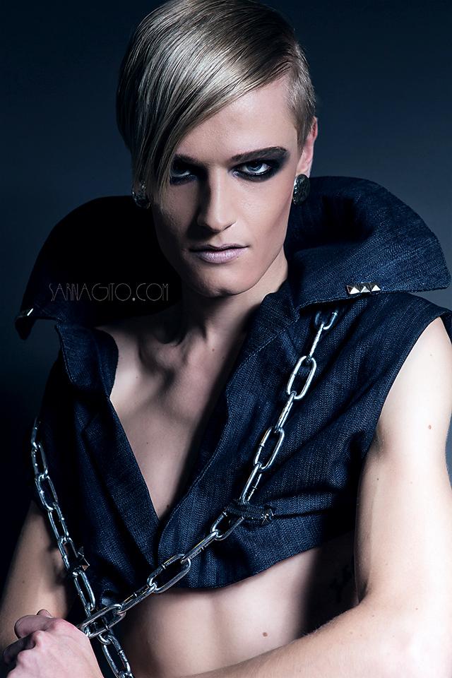 Model: Stephan Vermeulen - ANDROGYN MODELS ||   Stylist: David Sato ||  MUA/Photographer/PostProcess/Light: Sarina Gito
