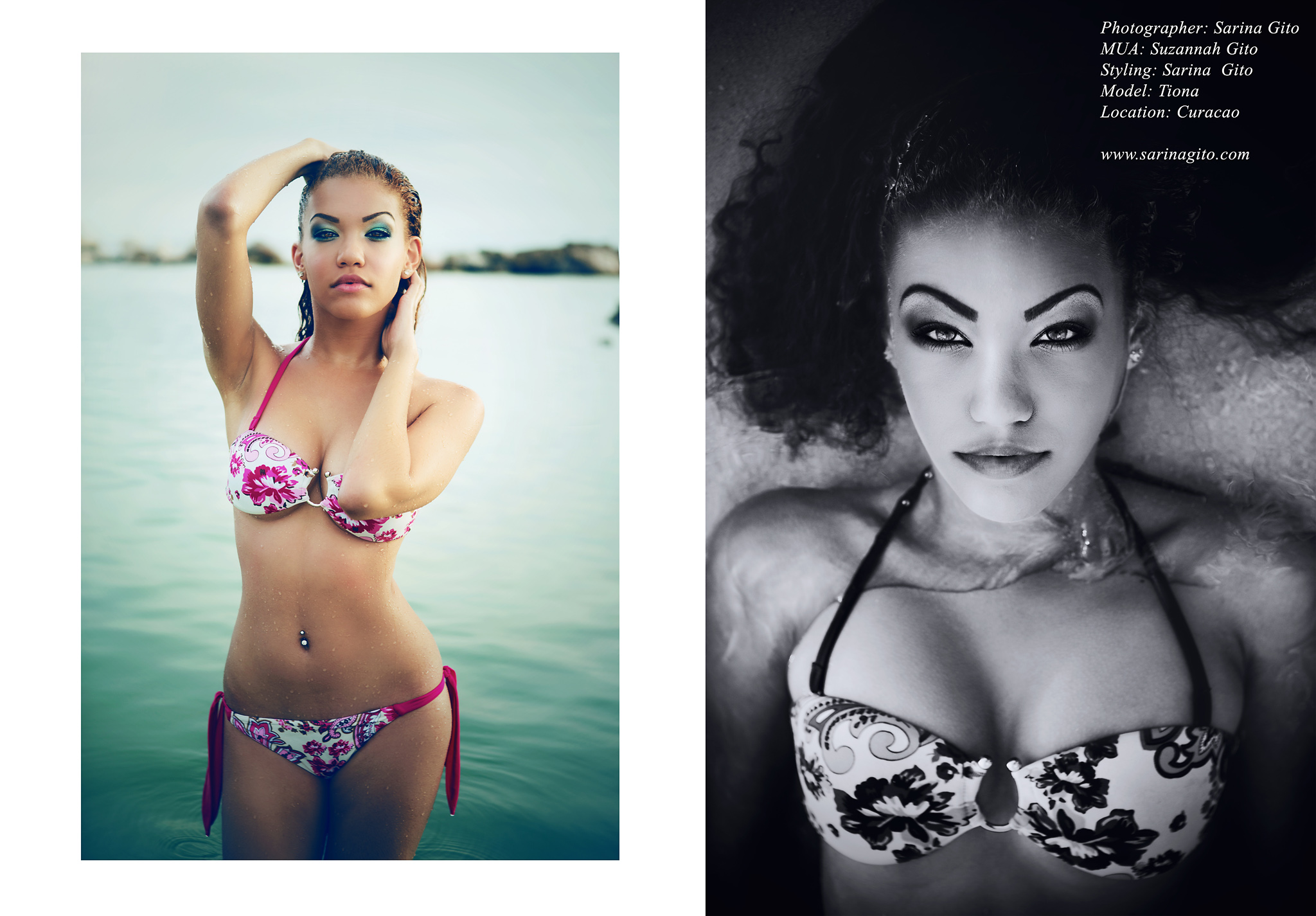 Photographer/PostProcessing: Sarina Gito | MakeUpArtist: Sue Gee | Model: Tiona. 2012. Curacao