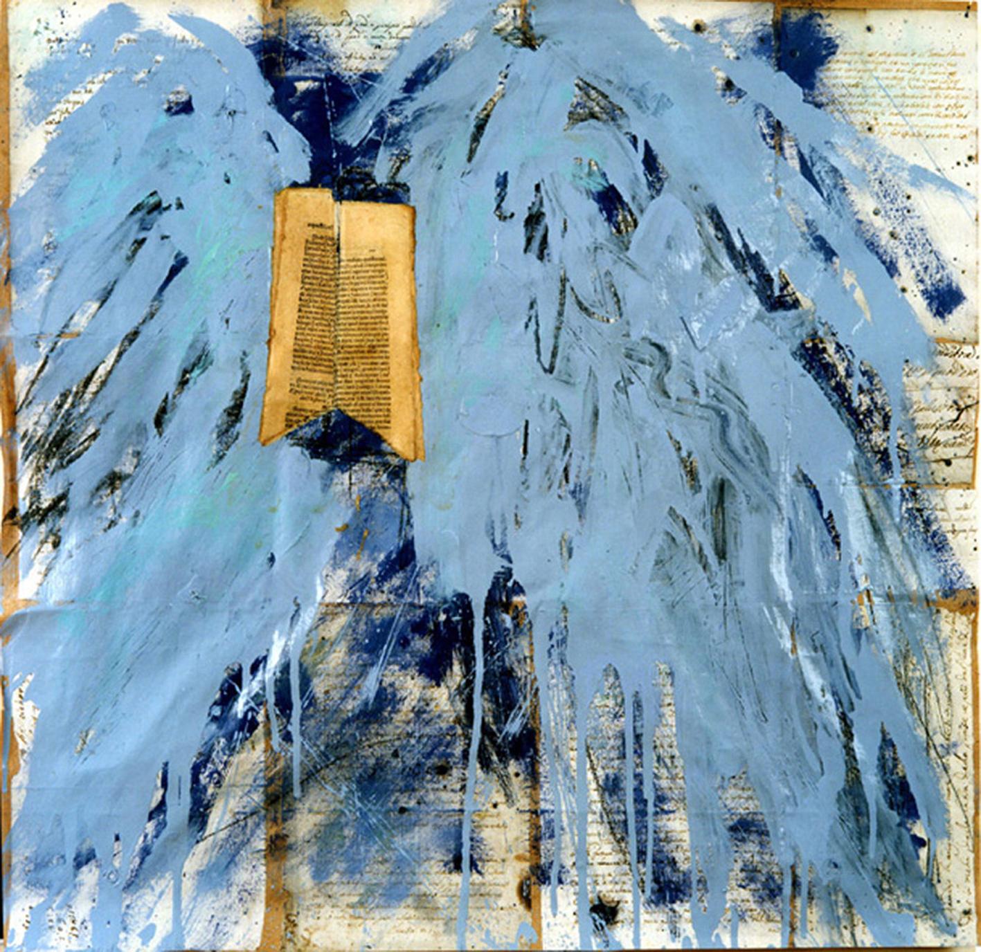 Libro con le Ali, studio (Book with the Wings, study)
