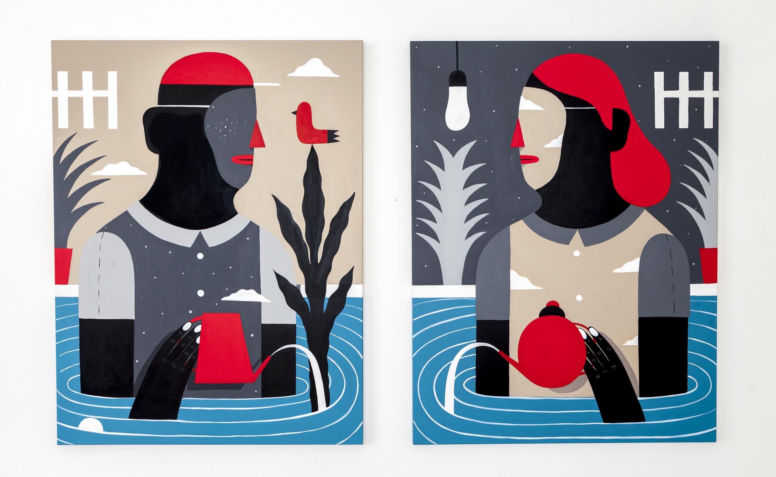 %22Interiors%22, acrylic on canvas, 100x132cm each, 2015.jpg