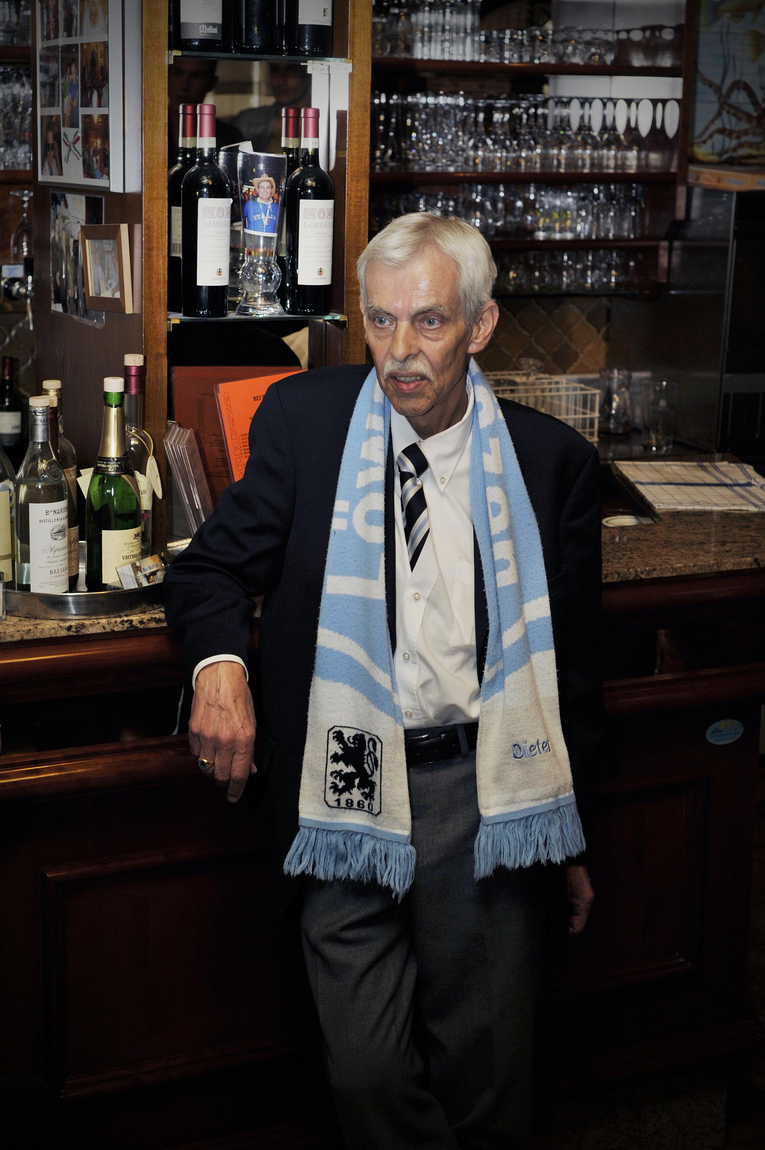 Dieter Schneider - Ex-Präsident TSV 1860 München