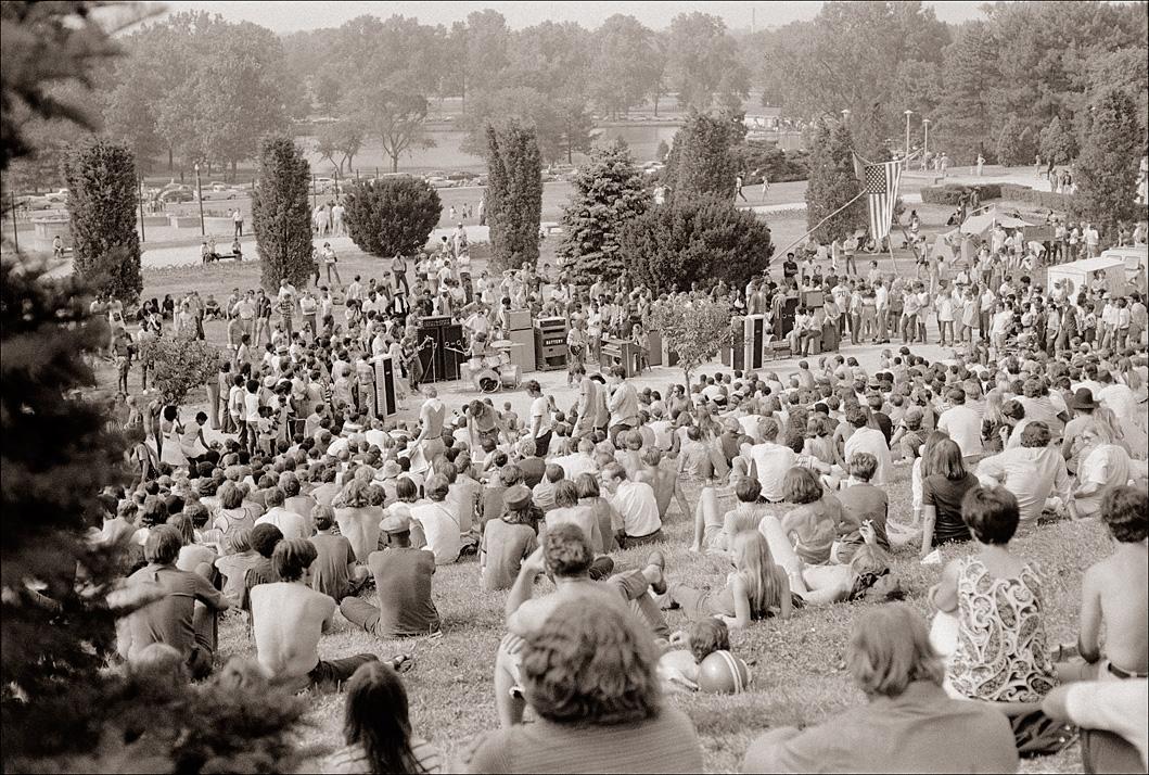 'Hippie Hill' in 1969
