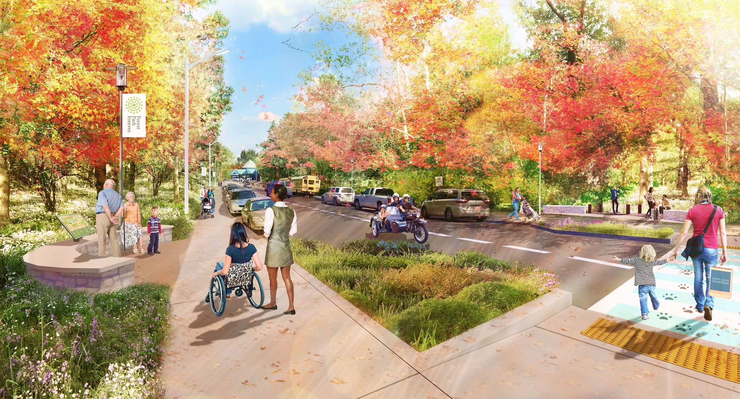 Government Drive (rendering)
