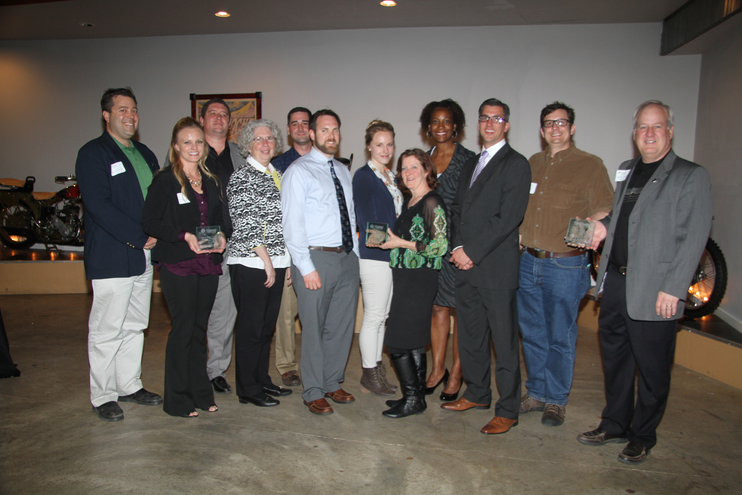 All of the Growing Green award winners.  credit: Kathy Arnold Photography
