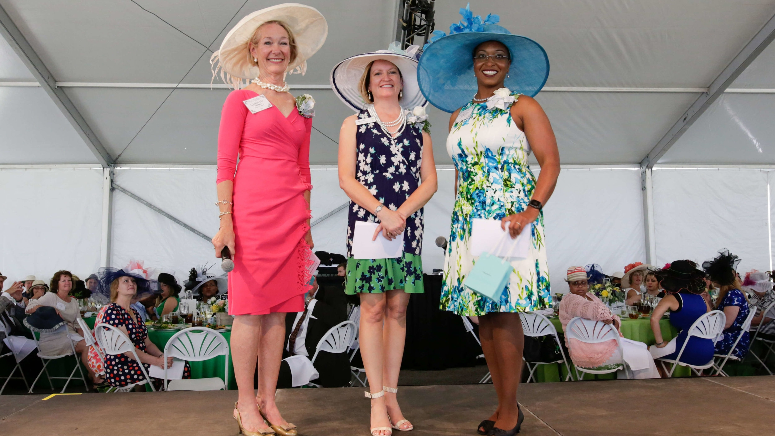 FPF President & Executive Director Lesley S. Hoffarth (center) with event co-chairs Carolyn G. Farrell and Vanessa F. Cooksey