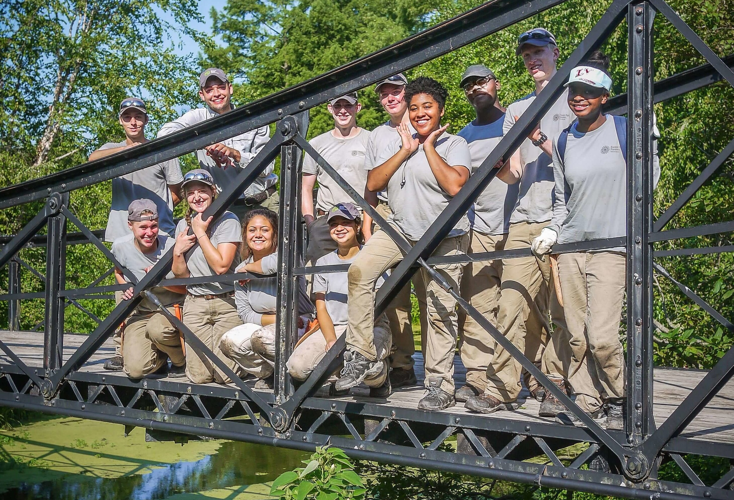 The 2017 Nature Works crew