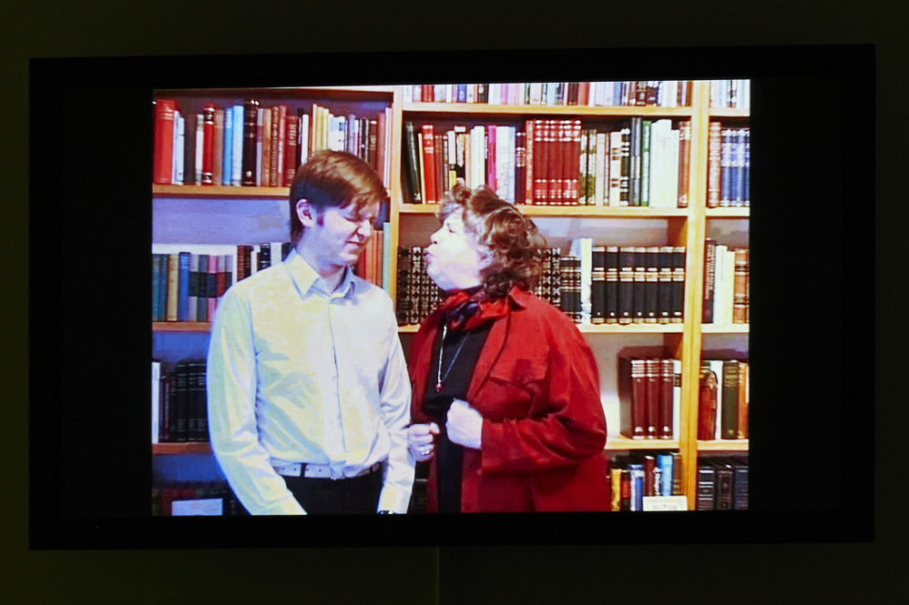 Me and My Mother  (2000), Ragnar Kjartansson.Photograph by Benoit Pailley courtesy of The New Museum