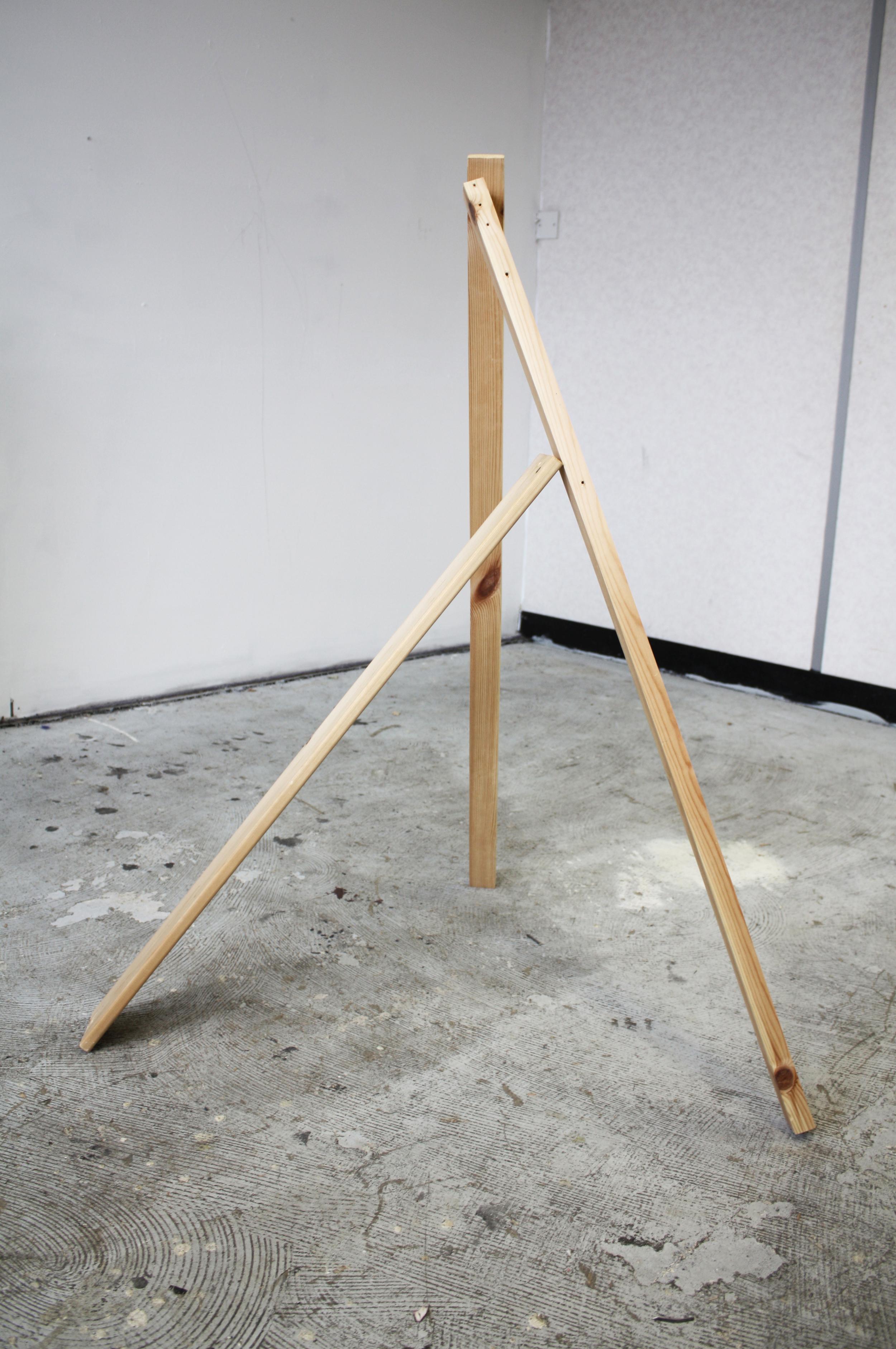 """Balanced Wood"" (2014), Robyn Benson. Wood"
