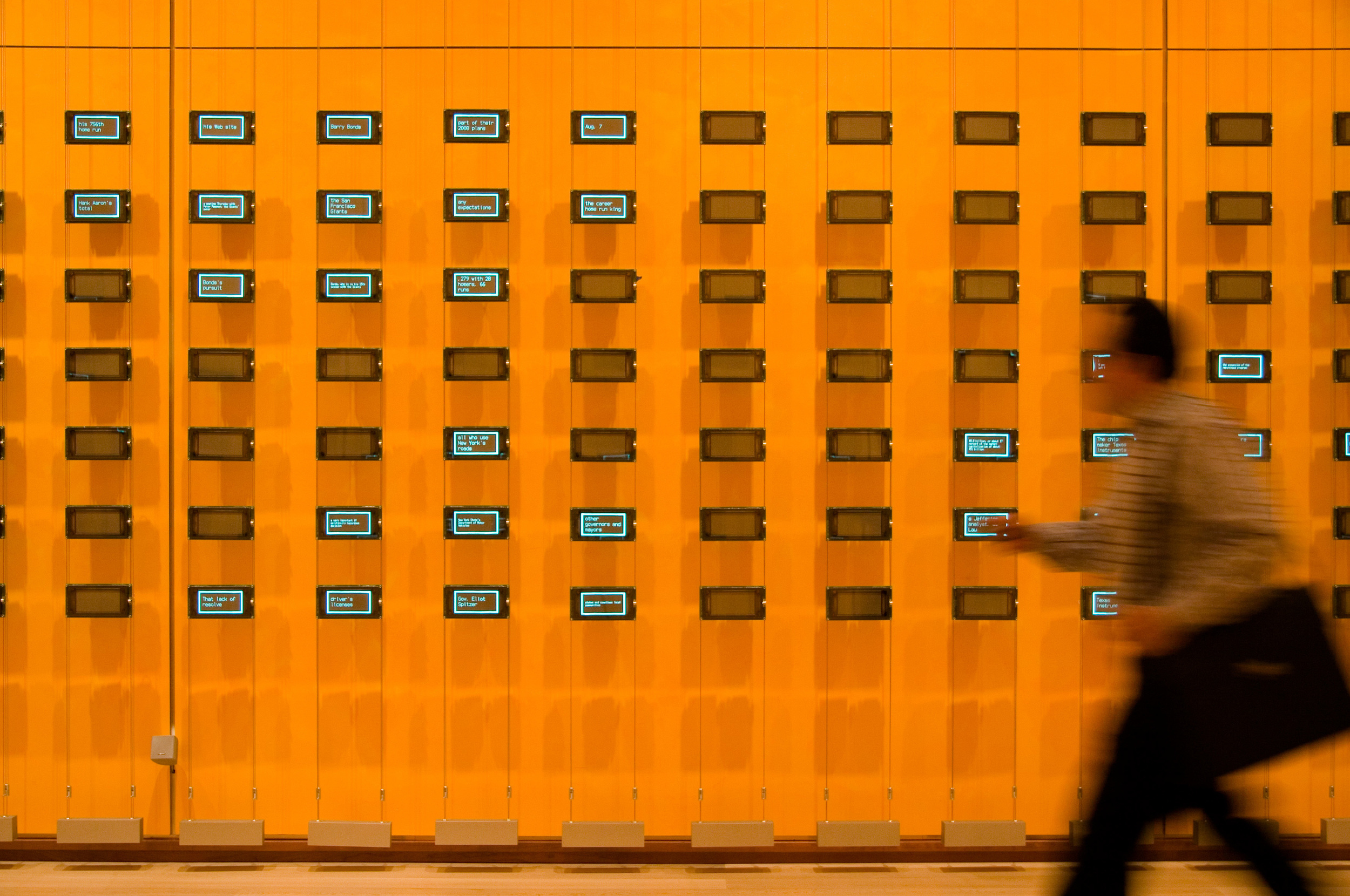 """Moveable Type"" (2007). Photograph courtesy of The Office for Creative Research"