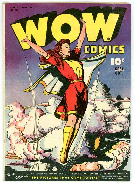 By Fawcett Comics, uploaded by Chordboard (art by Jack Binder) [Public domain], via Wikimedia Commons