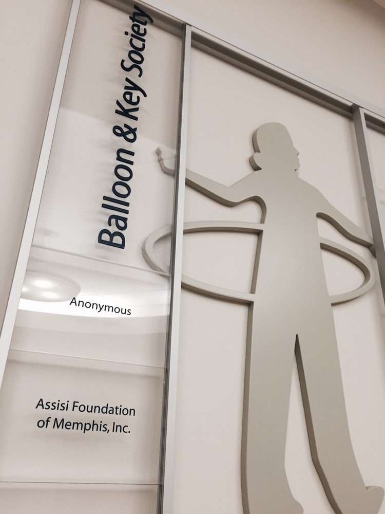 LeBonheur Children's Hospital Donor Recognition Display