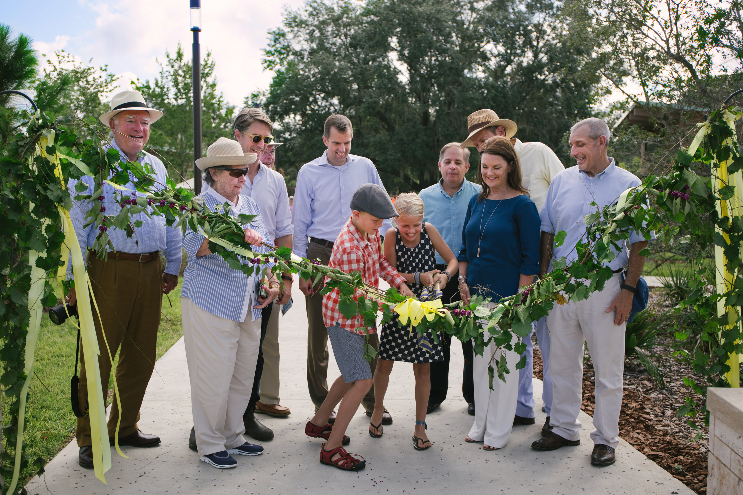 BokTower Gardens Ribbon Cutting