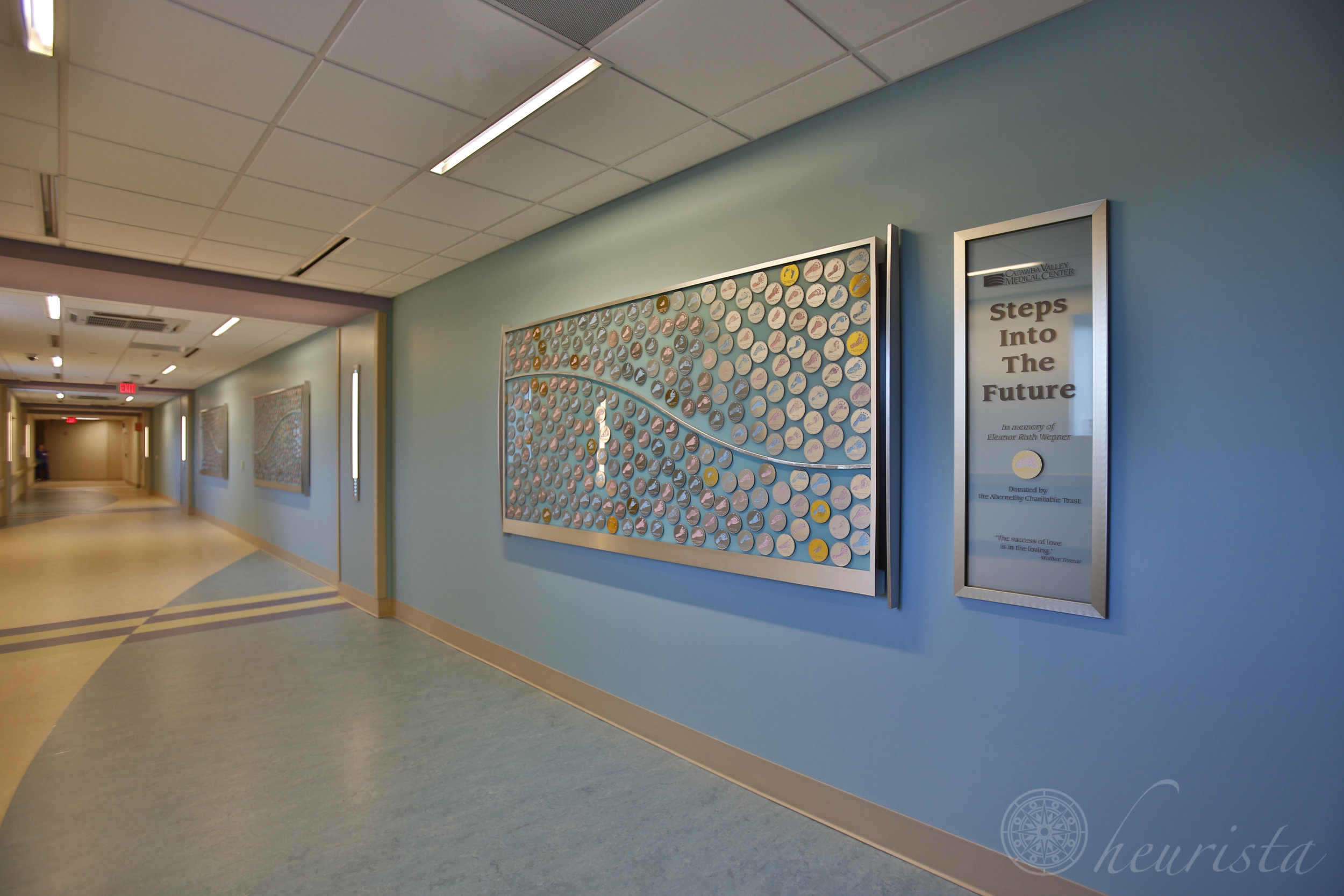 Donor Recognition, Steps into the Future, Catawba Valley Medical Center