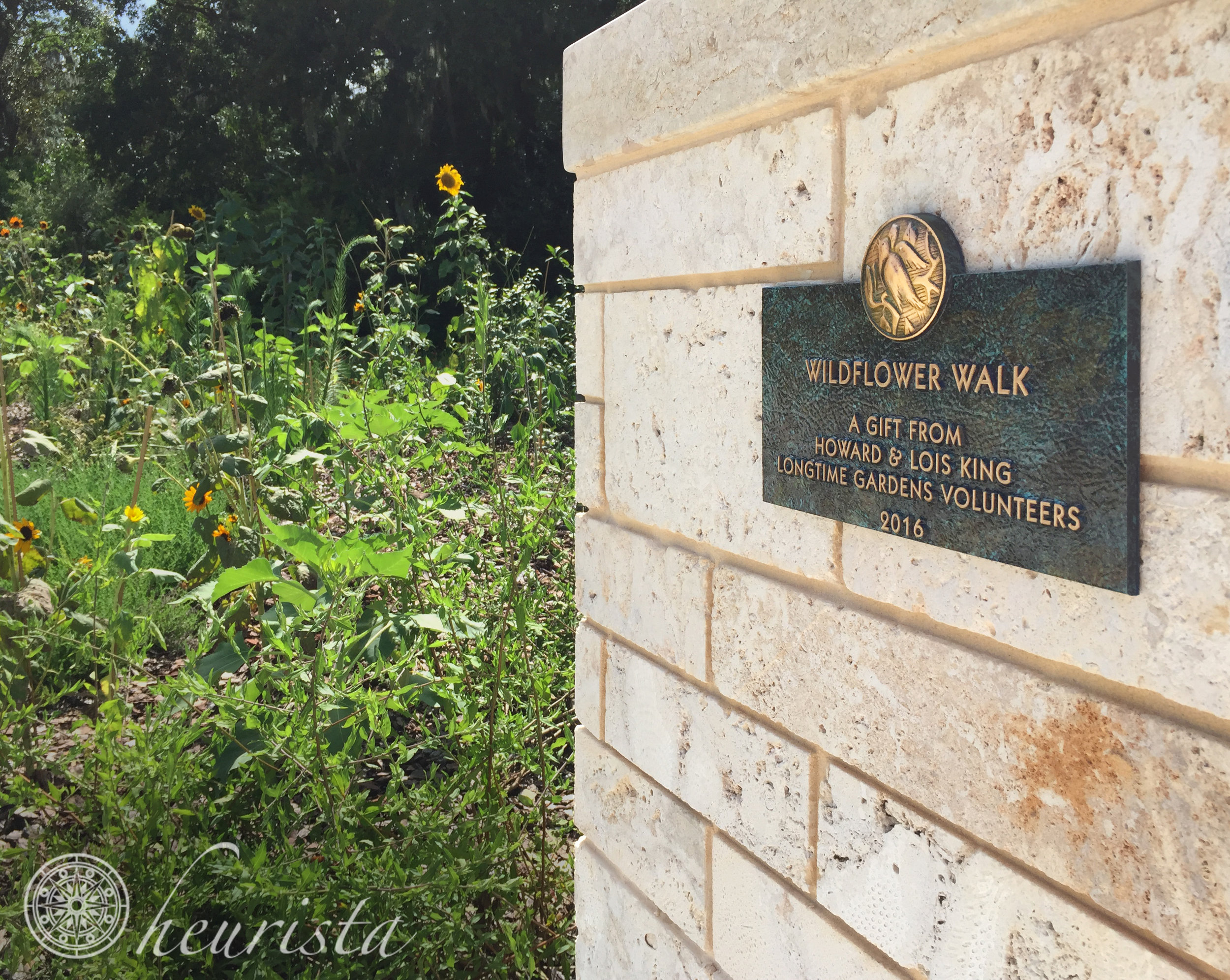 Donor Recognition, Bok Tower Gardens