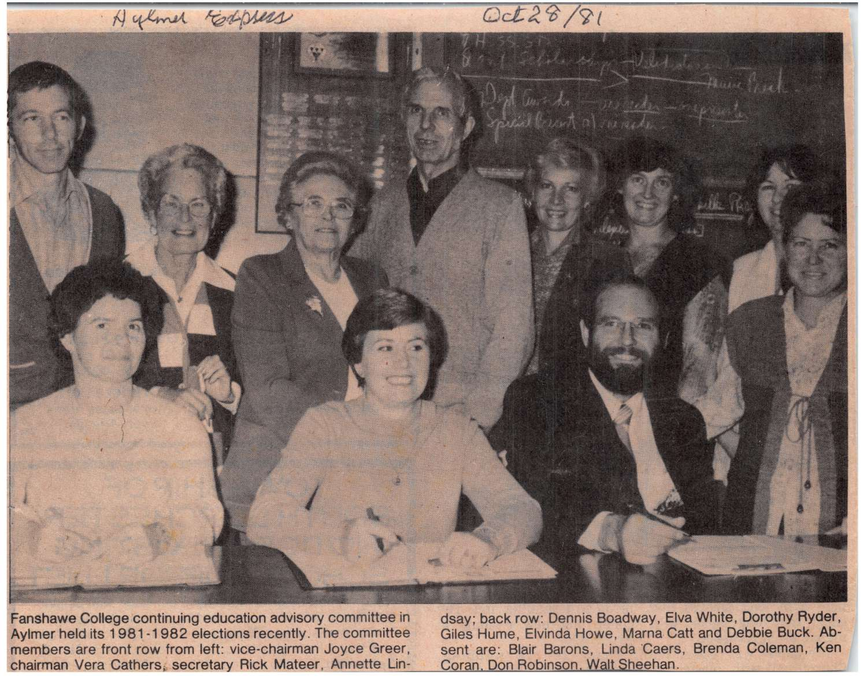 1981 - Fanshawe College continuing education advisory commitee-1500.jpg