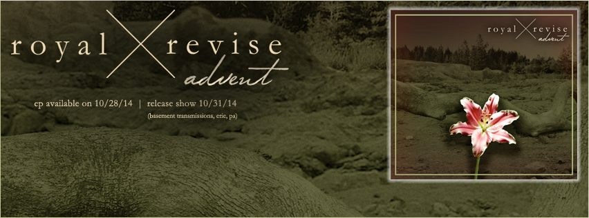 This is the release show for  Royal/Revise  's second EP, Advent.  Black Mask.  ,  Arcane Haven  ,  New Vegas  ,  Bravura  , and  Agathist  are joining us for this gnarly night.    Stay tuned for more information pertaining to Advent, and share with/invite all of your friends to this! Thanks everyone!    Time: 4:30 pm   Admission: $8   Since it is a Halloween show, there is a prize for the best costume!    Royal/Revise:  https://www.youtube.com/watch?v=rrkPzGuS-MY    Bravura:  https://www.youtube.com/watch?v=H6xRv9JsDaI&feature=youtu.be    Black Mask: https://www.youtube.com/watch?v=PcKsDOyGa8I   Arcane Haven: https://www.youtube.com/watch?v=X4Uxp3rNtXY   New Vegas: https://www.youtube.com/watch?v=YdOvIWmE7Jk