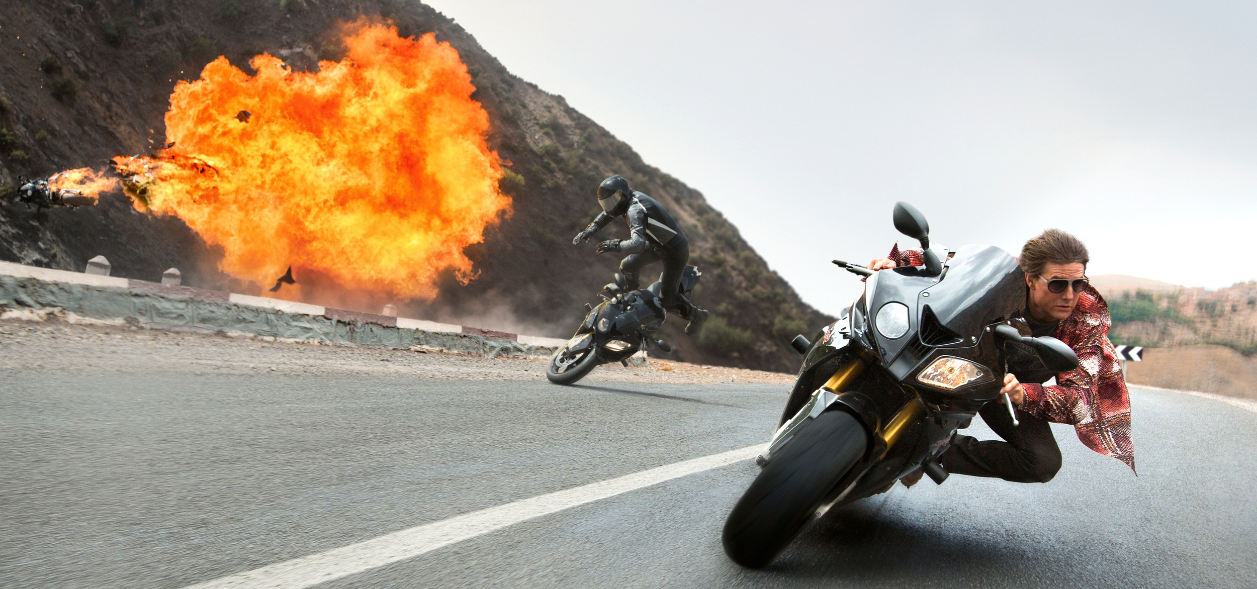 Tom Cruise plays Ethan Hunt in Mission: Impossible Rogue Nation from Paramount Pictures